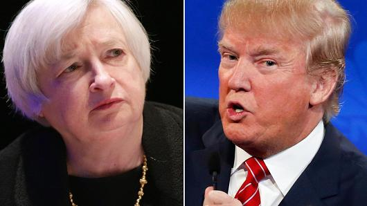 Fed Set to Raise Rates, Trump's Win Causes Initial Jump